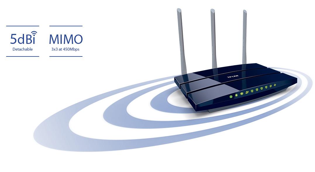 Bộ định tuyến Wifi TP-Link TL-WR1043ND