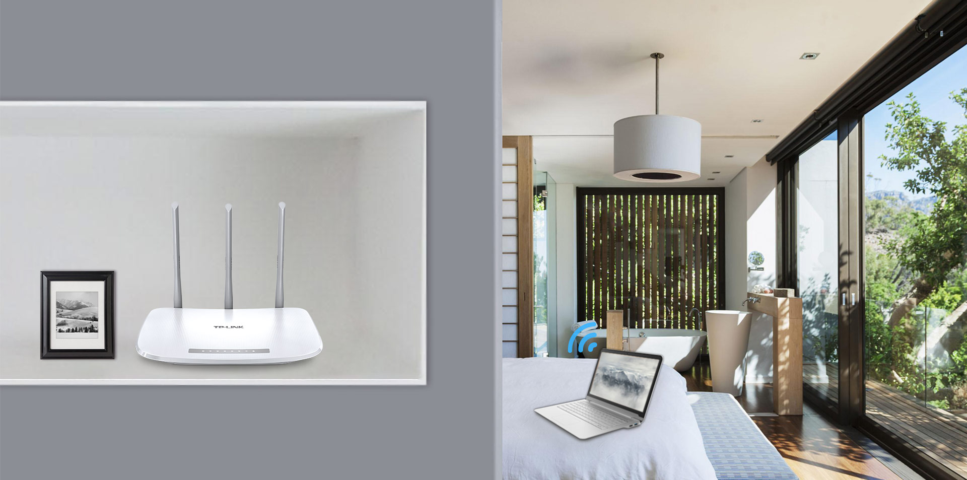 Tl Wr845n 300mbps Wireless N Router Tp Link India Tplink Wr840n Wr 840 Three 5dbi High Gain Antennas Perfect For Small To Medium House A Better Coverage Lets You Never Lost Connections And Enjoy More Stable Connection