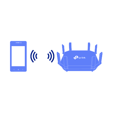 Step 1: Connect to the access point to establish the network