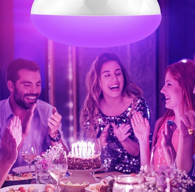 Lb230 Kasa Smart Wi Fi Led Light Bulb Multicolor Tp Link