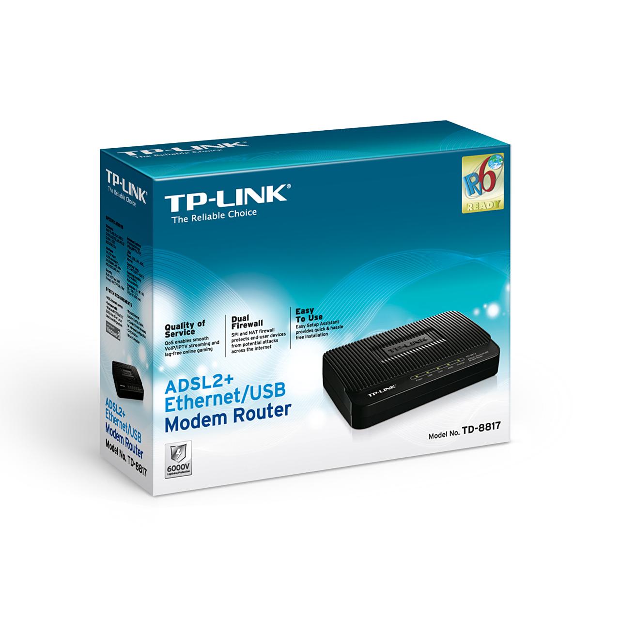 tp-link td-8817 драйвера для xp скачать