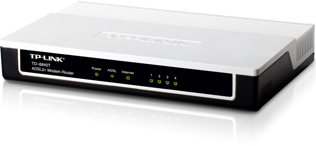 TP-LINK TD-8816 ADSL2 Modem Router
